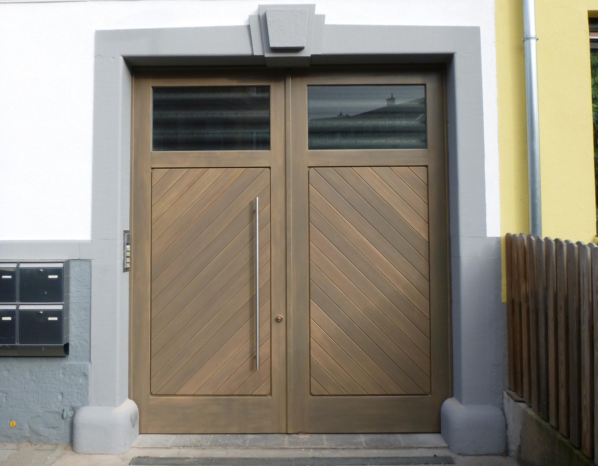 Hoftore aus Holz & Holztore für Einfahrten | Schreinerei Siefert